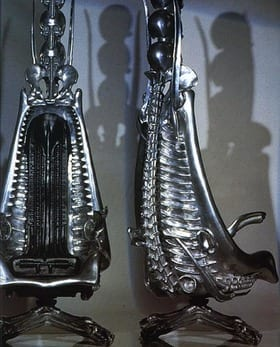 Furniture by H R Giger