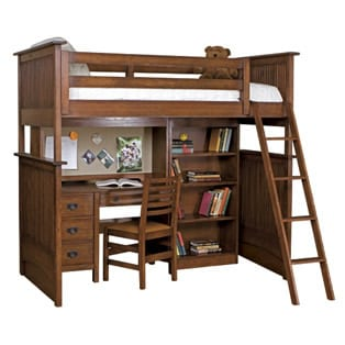 The Ultimate Bunk Bed / Desk Combination from Stickley Furniture