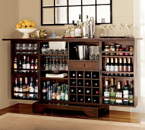 The Well Stocked Quot Modine Bar Quot From Pottery Barn