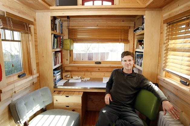Miraculous Video Home Tours Jay Shafers Amazing Tiny House Largest Home Design Picture Inspirations Pitcheantrous