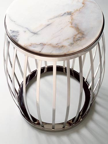 Cavea Metal Side Tables