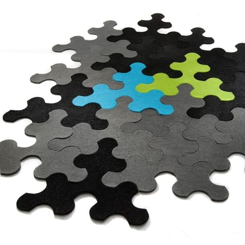decorative rugs, decorative rug, decorative rug design, decorative rug designs, puzzle rug, puzzle rugs, play rug, play rugs, black and blue rug, black and lime rug, puzzle piece rug, imperial rug, contraforma rug