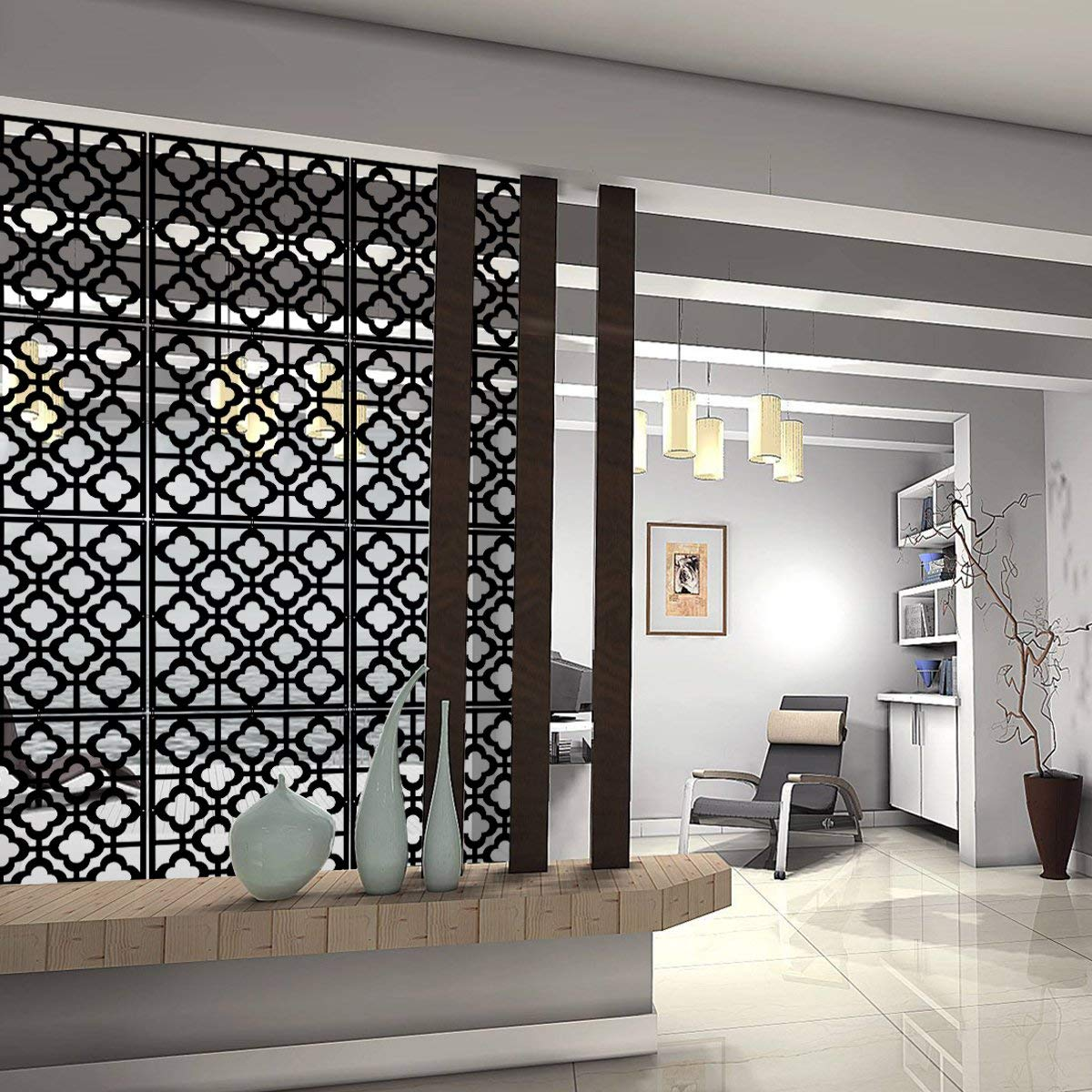 From The Top Down 10 Hanging Room Dividers