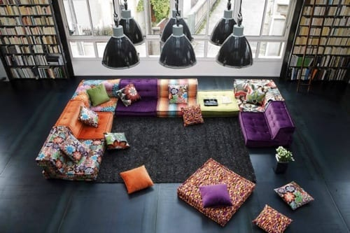 patchwork sectional