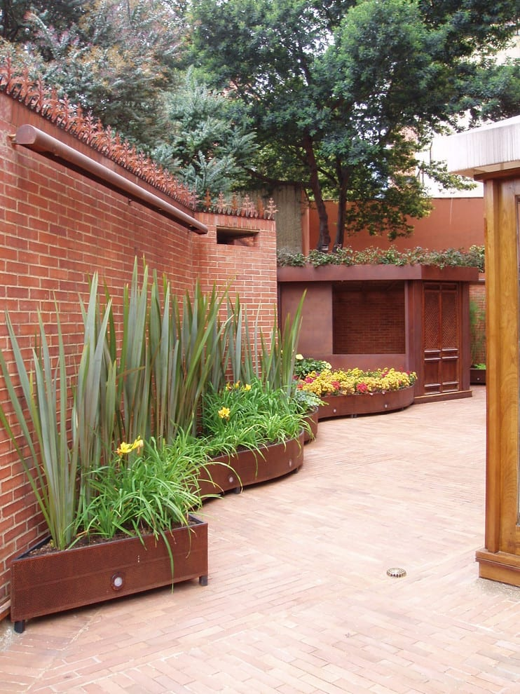 Patio Planter Designs