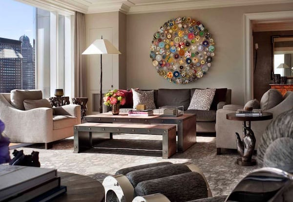 wall art accent wall living room