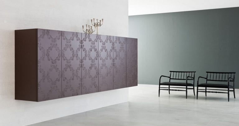 Pure and Simple Storage: Zurich Cabinet by Capo D\'Opera