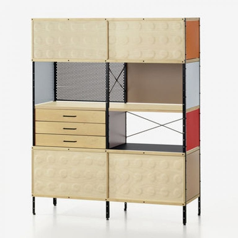 Eames Storage Unit 400 Series by Eames Office