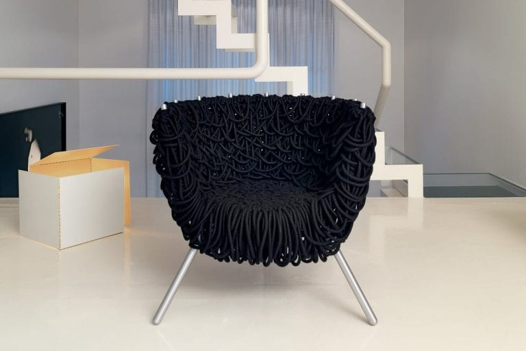 Accent chair design by Edra