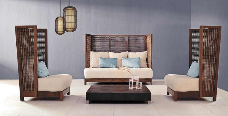 Suzy Wong Loveseat Collection by Kenneth Cobonpue
