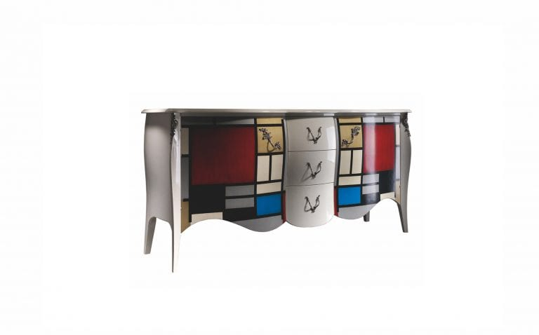Oriental sideboard by Lola Glamour