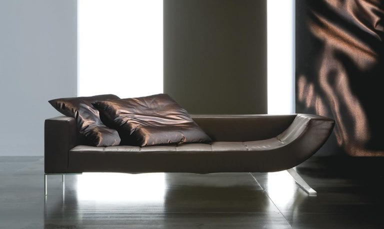 luxury leather sofa design