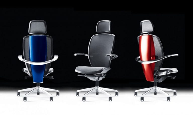 office chair design by Pinifarina