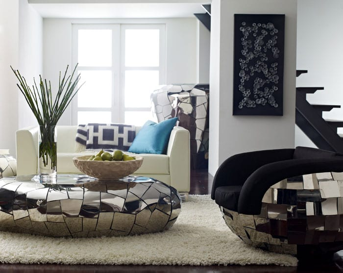 Crazy Cut Coffee Table by Phillips Collection