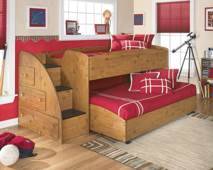 traditional children's bunk beds