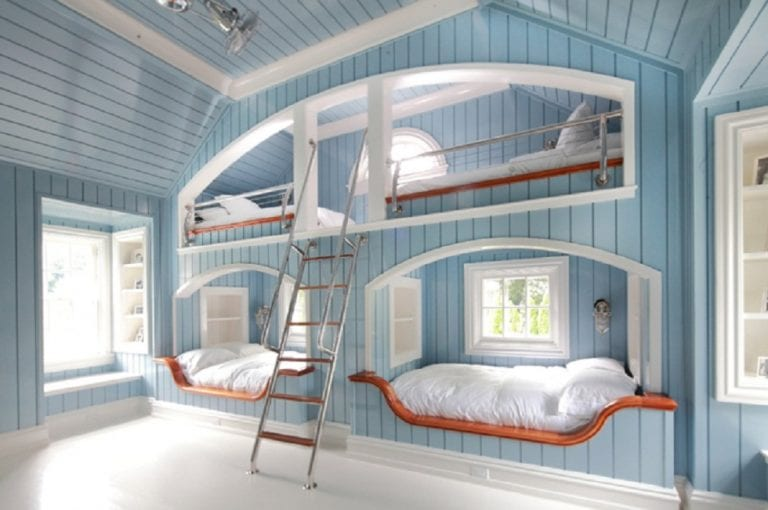 15 Bunk Beds with Stairs Designs and Pictures