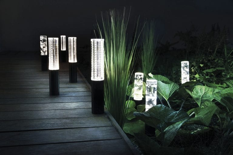 Outdoor security lights