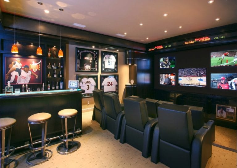 10 Uber Cool Man Cave Designs with Pictures