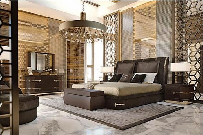 Insanely Regal Diamond Bedroom Furniture Collection by Turri of Italy