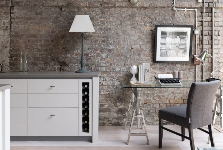Presenting Manhattan: a Gorgeous Petite Writing Desk from Neptune