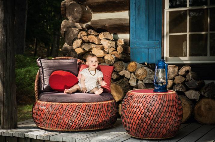 DALA - The Colorful Outdoor Furniture Collection by DEDON