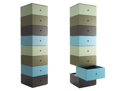 Aphrodite Modern Storage Chest of Drawers by Ligne Roset