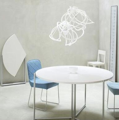 f2 round folding dining table ligne roset furniture