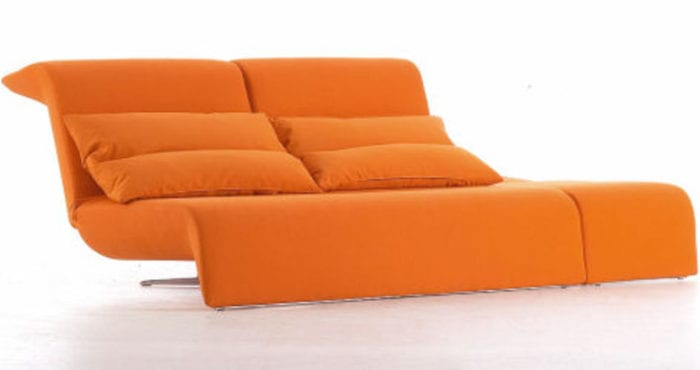 ligne roset sofa and chaise
