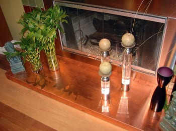 Copper Countertops from Frigo Design
